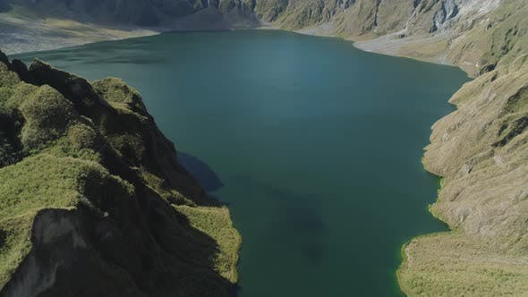 Crater Lake Pinatubo, Philippines, Luzon