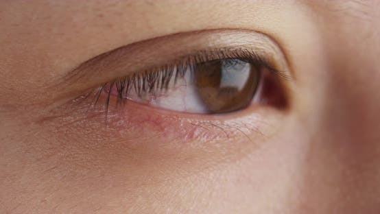 Thumbnail for Close up of Chinese woman's eye