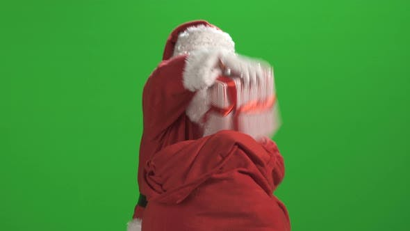 Thumbnail for Santa Claus Against Green Screen