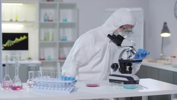 Cover Image for Medical Scientist Conducting Research in Laboratory
