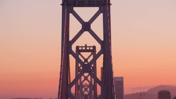 San Francisco's Bay Bridge Twilight