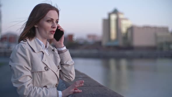 Thumbnail for Woman Having a Business Call