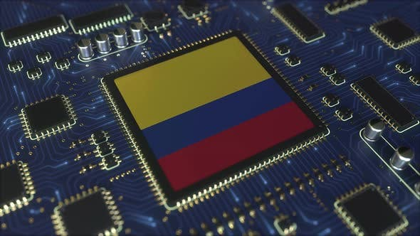 Thumbnail for Flag of Colombia on the Operating Chipset