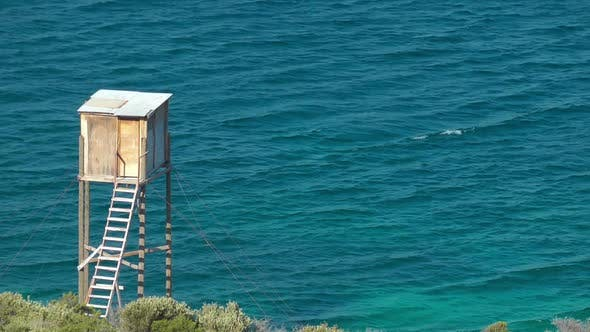 Thumbnail for Wooden Lifeguard Cabin