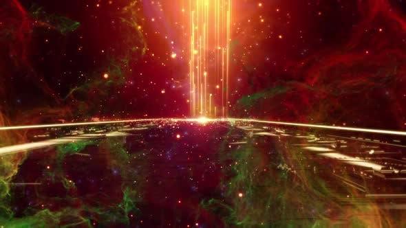 Space Bridge Background Loop