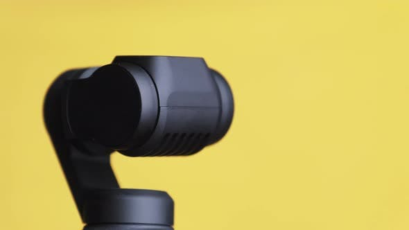 The Robotic Camera Rotates in Different Directions