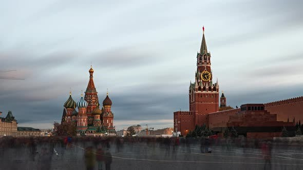 Thumbnail for Evening Timelapse of Red Square, Moscow