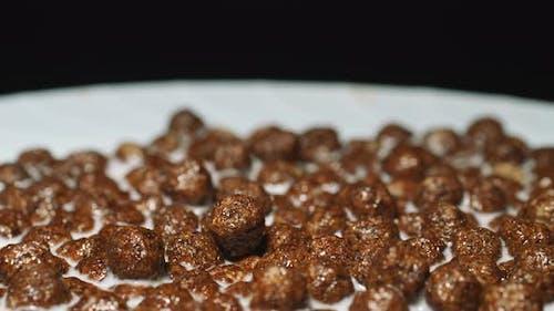Chocolate Balls in Milk