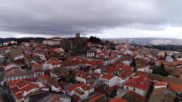 Thumbnail for Aerial View of Historical City and Gothic Cathedral