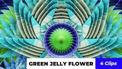 Green Jelly Flower
