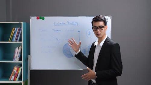 Asian Business Man Coaching