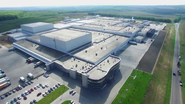 Industry Building Aerial