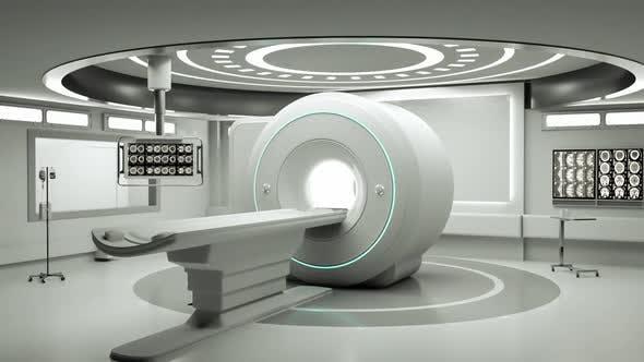 Thumbnail for Entering magnetic resonance imaging (MRI) room