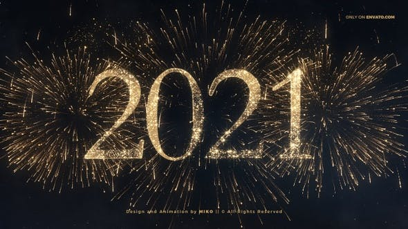Thumbnail for Neujahrs-Feuerwerk 2021