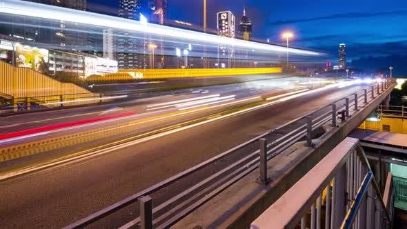 Thumbnail for Hong Kong at night