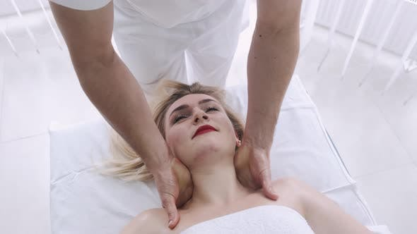 Thumbnail for Woman Gets Shoulder Massage Spa By Therapist