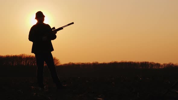 Thumbnail for The Hunter Takes Aim and Is Ready To Shoot
