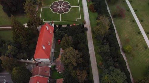 Lednice Castle Unesco Aerial View