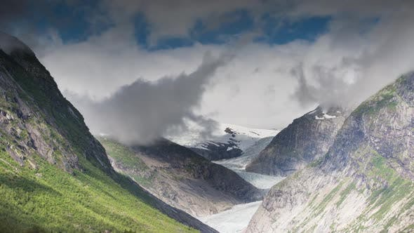 norway glacier arctic nature snow ice nigardsbreen