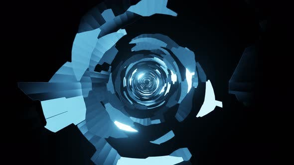 Abstract Blue Background V3