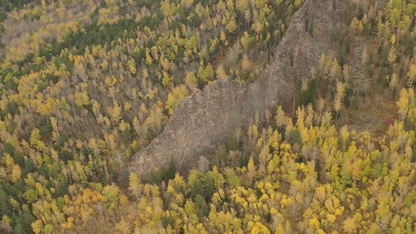 Thumbnail for Mountain Landscape in the Siberian Nature Reserve Stolby in Autumn