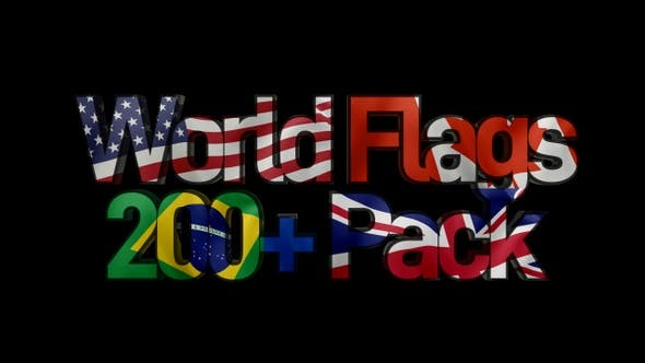 World Flags - 200+ Pack