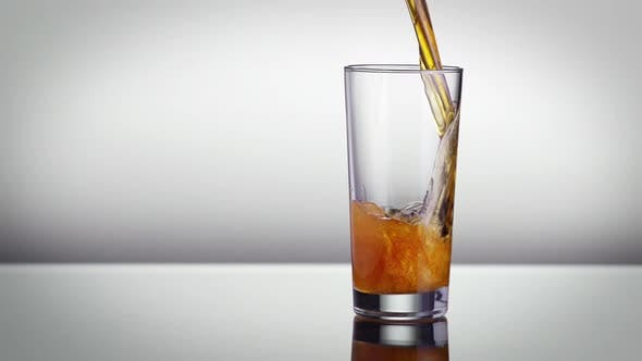 Thumbnail for Beer Pouring Into A Glass Slow Motion