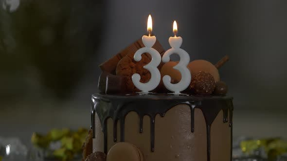 Thumbnail for 33th Birthday Candles