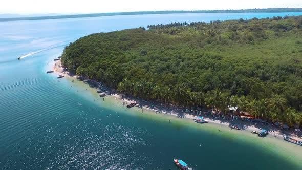 Idyllic Virgin Caribbean Beach