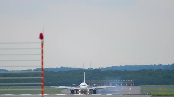 Thumbnail for Aircraft Braking After Landing