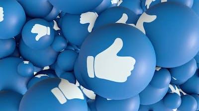 Social Media Like Transition