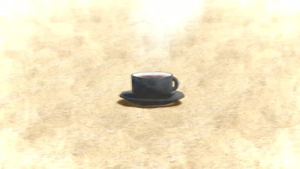 Coffee cup Stop Motion