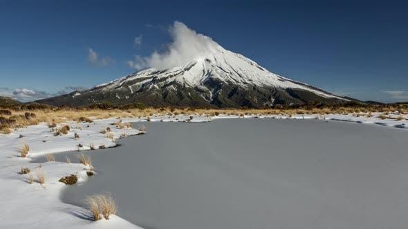 Thumbnail for Taranaki volcano in New Zealand