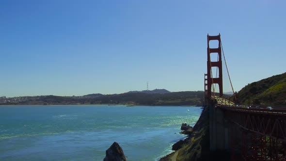 Thumbnail for Golden Gate Bridge Over San Francisco Bay