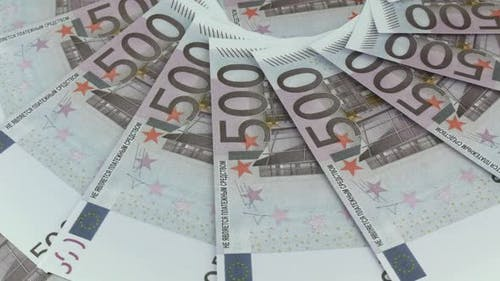 Euro Currency In The Bank