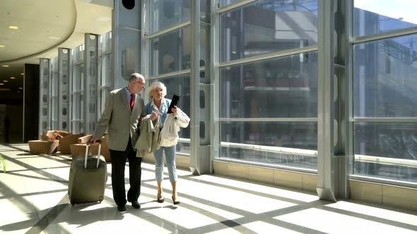 Thumbnail for Senior Couple of Tourists