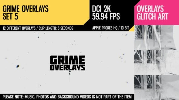 Thumbnail for Grime Overlays (2K Set 5)