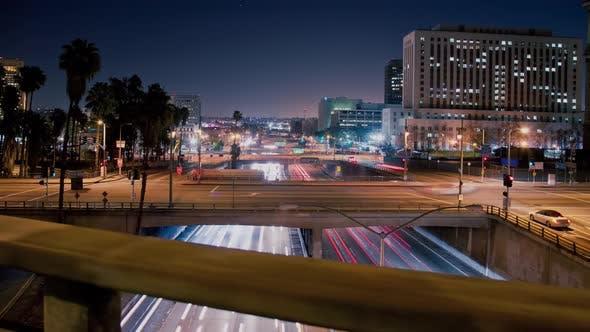 Thumbnail for Los Angeles Traffic Hyper Lapse