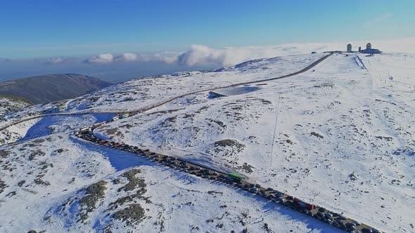 Thumbnail for Winter Snow Mountain Road