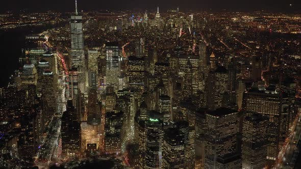 Thumbnail for Financial City Business District in New York City