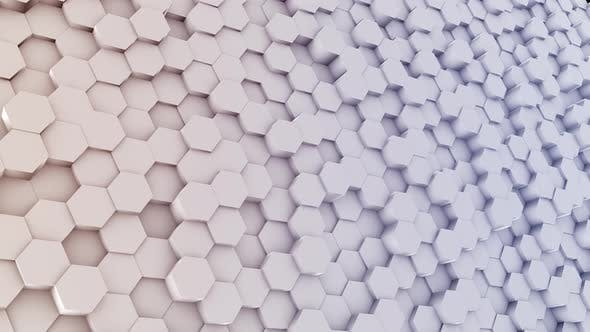 Hexagon Colored Background 4K