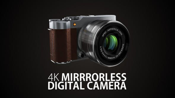 Fuji Mirrorless Digital Camera 4K