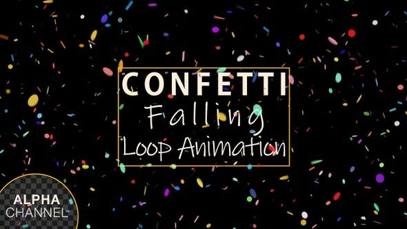 Thumbnail for Confetti Falling Loop