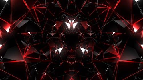 Techno Tunnel Red