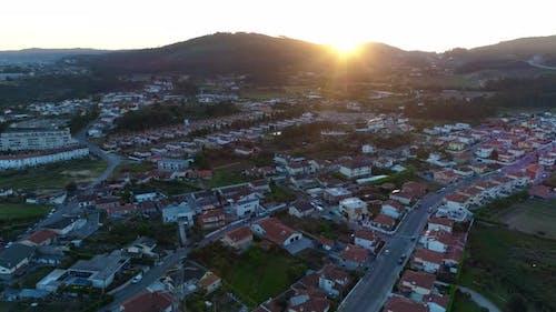 Häuser von oben gesehen