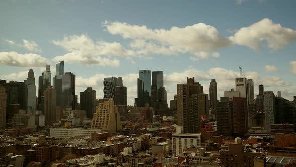Thumbnail for High Rise Skyline Office Buildings in City Business District