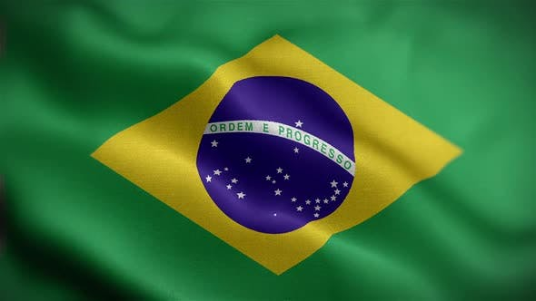 Brazil Flag Front