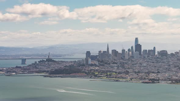 Thumbnail for San Francisco, USA - The Skyline during the daytime