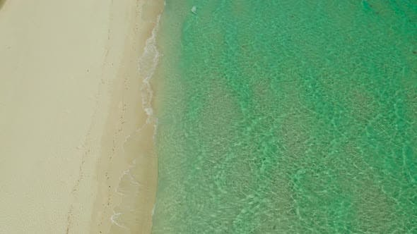 Thumbnail for Ocean with Waves and Yellow Beach