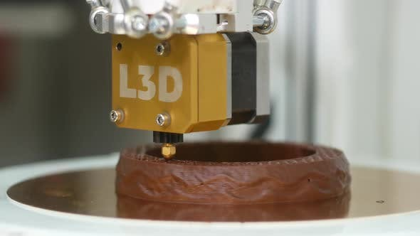 Thumbnail for Making Delicious Chocolate Dessert With 3D Printer